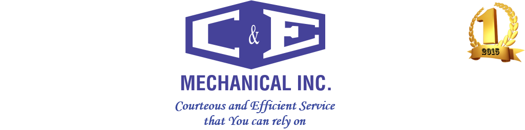 C & E Mechanical Inc. Logo